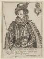 King James I, by Miss Woodin, after  Laurence Johnson - NPG D21101