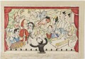 Our Savage Cartoonist's Queer Nightmare - A Super Mayfair Pantomime Suggestion, by Anthony Wysard - NPG D309