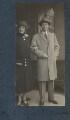 Mrs Lindsay; Sir Philip Albert Gustave David Sassoon, 3rd Bt, by Lady Ottoline Morrell - NPG Ax142194