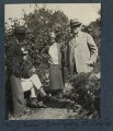 Walter James Redfern Turner; Philip Edward Morrell; Jules Godby; Herbert Henry Asquith, 1st Earl of Oxford and Asquith, by Lady Ottoline Morrell - NPG Ax142206