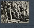 Walter Taylor; Mark Gertler; Jules Godby; Philip Edward Morrell, by Lady Ottoline Morrell - NPG Ax142208