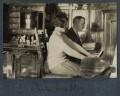 Julian Vinogradoff (née Morrell); L.P. Hartley, by Lady Ottoline Morrell - NPG Ax142383