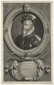 Robert Dudley, 1st Earl of Leicester, by Cornelis Martinus Vermeulen, after  Adriaen van der Werff - NPG D21153