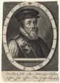 William Cecil, 1st Baron Burghley, by Magdalena de Passe, by  Willem de Passe - NPG D21164