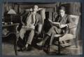 Siegfried Loraine Sassoon; Walter James Redfern Turner, by Lady Ottoline Morrell - NPG Ax142423