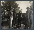 Kyrle Leng; Elizabeth Theresa Frances Courtauld (née Kelsey); Samuel Courtauld; Igor Vinogradoff, by Lady Ottoline Morrell - NPG Ax142489