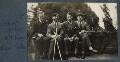 Igor Vinogradoff; Gilbert Spencer; Walter James Redfern Turner; Mark Gertler, by Lady Ottoline Morrell - NPG Ax142496