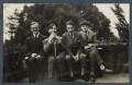 Igor Vinogradoff; Gilbert Spencer; Walter James Redfern Turner; Mark Gertler, by Lady Ottoline Morrell - NPG Ax142497