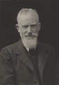 George Bernard Shaw, by Walter Stoneman, for  James Russell & Sons - NPG Ax39212
