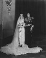 The Wedding of Princess Marina, Duchess of Kent and Prince George, Duke of Kent, by William Flower, for  Elliott & Fry - NPG x82087