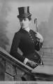 Jeanette ('Jennie') Churchill (née Jerome), Lady Randolph Churchill, by Elliott & Fry - NPG x82158