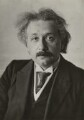 Albert Einstein, by Walter Benington, for  Elliott & Fry - NPG x82213