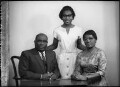 Sir Samuel Okai Quashie-Idun; Charlotte Eunice Amoah Quashie-Idun; Dinah Quashie-Idun, by Elliott & Fry - NPG x82643